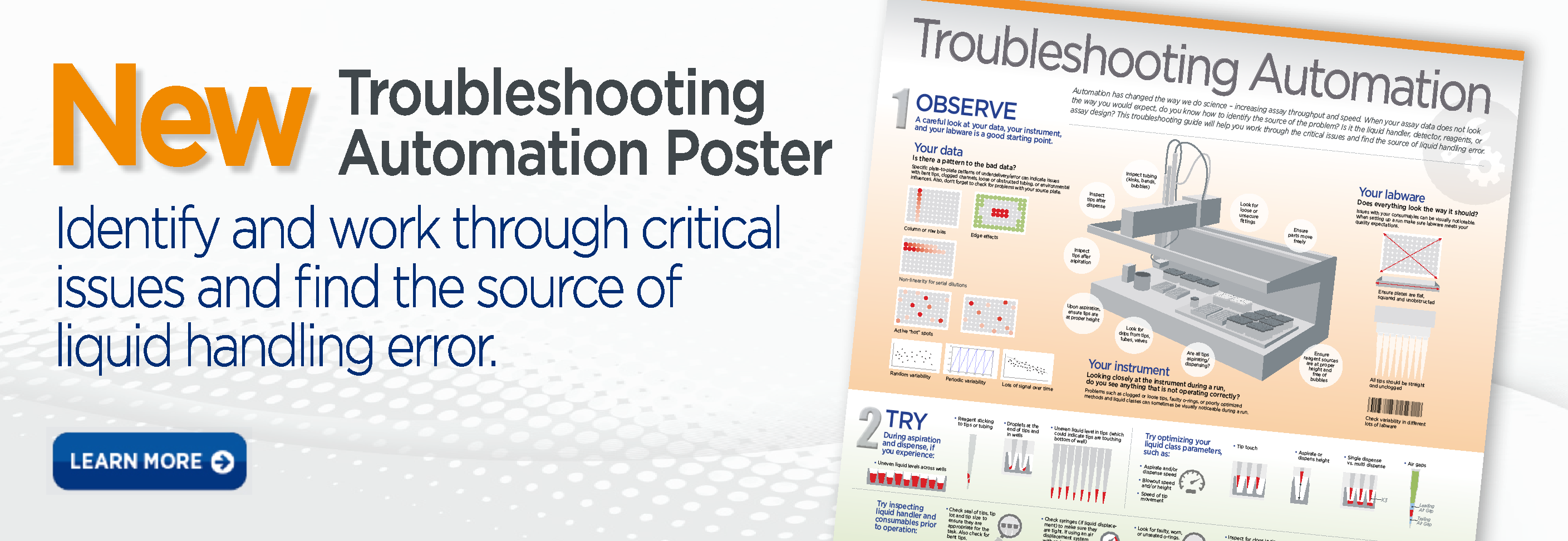 New Troubleshooting Automation Poster
