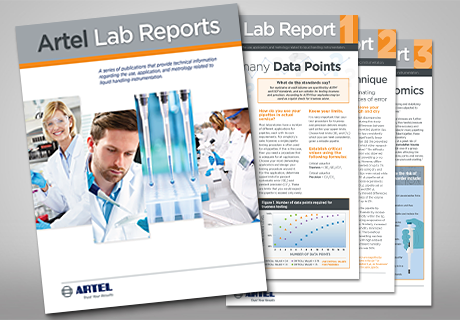 Artel Lab Report eBook – your guide to liquid handling data quality